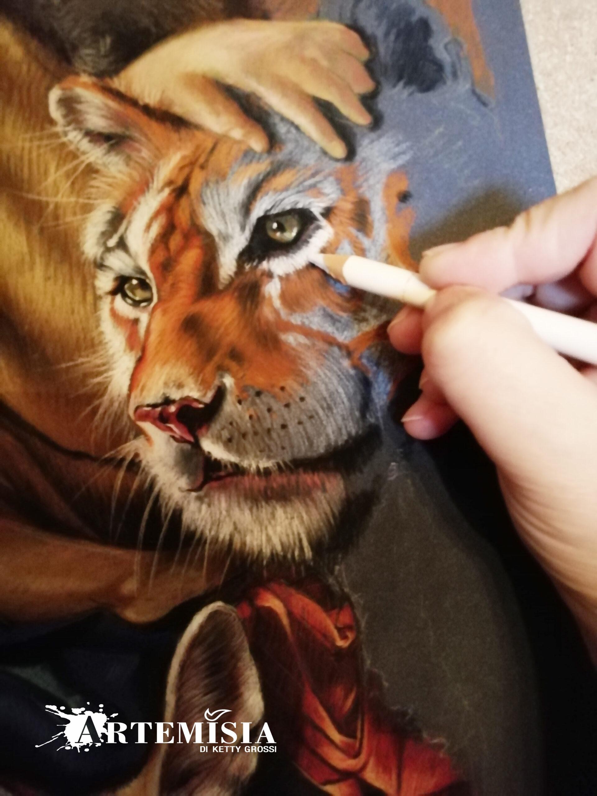 Tiger WIP.
